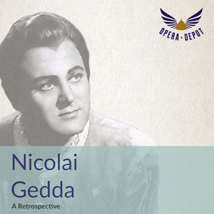 Compilation: Nicolai Gedda - Arias and excerpts from Orphée et Eurydice, Entführung, Manon and more!