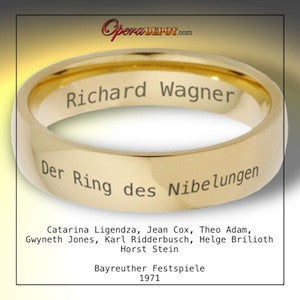 Wagner: Der Ring des Nibelungen - Ligendza, Adam, Cox, Jones, Brilioth; Stein.  Bayreuth, 1971