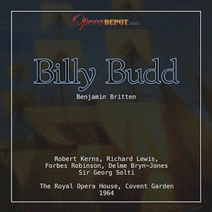 Britten: Billy Budd - Kerns, Lewis, Robinson; Solti.  London, 1964