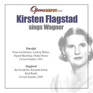 Wagner: Kirsten Flagstad sings Parsifal & Siegfried - Acts I & II of Parsifal, London, 1951. Act III Siegfried, London, 1949