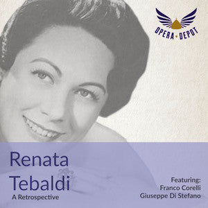 Compilation: Renata Tebaldi - Arias from Chénier, Tosca, Butterfly, Forza, Giuio Cesare, Tannhäuser, Gioconda and more!