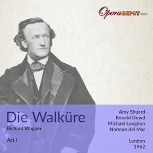 Wagner: Die Walküre (Act I) - Shuard, Langdon, Dowd; del Mar. BBC London, 1962