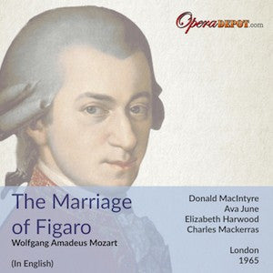 Mozart: Le Nozze di Figaro (In English) - McIntyre, Harwood, June; Mackerras. London 1965