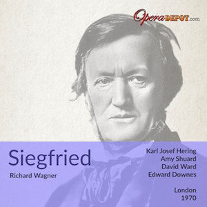 Wagner: Siegfried - Hering, Ward, Shuard, Kelemen, Lanigan, Langdon; Downes. London, 1970