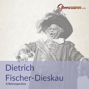 Compilation: Dietrich Fischer-Dieskau - Arias and excerpts from Macbeth, Falstaff, Arabella, Das Rheingold, Tannhäuser