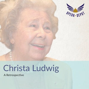 Compilation: Christa Ludwig - Arias from excerpts from Fledermaus, Orfeo ed Euridice, Così fan tutte, Trovatore, Aida and more