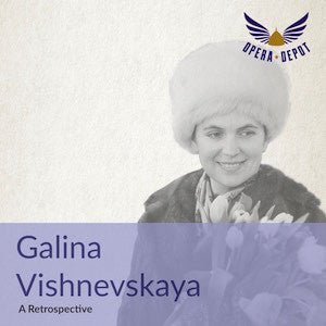 Compilation: Galina Vishnevskaya - Arias from Butterfly, Onegin, Aida, Macbeth, Figaro, Fidelio, Turandot, Macbeth, Falstaff and more!