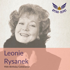 Compilation: Leonie Rysanek - Excerpts from Otello, Holländer, Gioconda, Walküre, Fidelio, Lohengrin, Tannhäuser, Macbeth and more