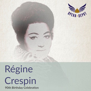 Compilation: Régine Crespin - Excerpts from Iphigénie en Tauride, Die Walküre, Parsifal, Fedra and Werther