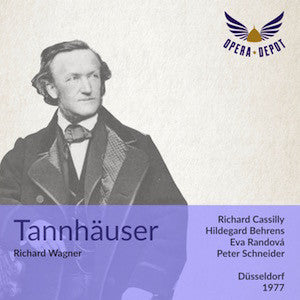 Wagner: Tannhäuser - (Act II is abridged) - Cassilly, Behrens, Randová, Holloway, Smith; Schneider. Düsseldorf, 1977