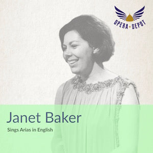 Compilation: Janet Baker - Arias from Così fan tutte, Maria Stuarda, Les Troyens, Werther, Rosenkavalier, Ariadne and more