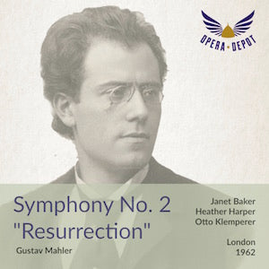 Mahler: Second Symphony - Baker, Harper; Klemperer. London, 1962