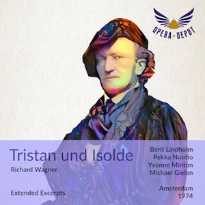 Wagner: Tristan und Isolde - Lindholm, Nuotio, Minton, Cold Gielen. Amsterdam, 1974