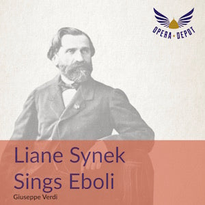 Compilation: Liane Synek sings Eboli - with Lee, R. Thomas, Wollitz, Kühne; Kaufmann. Wiesbaden, 1973. BONUS: Synek sings arias from Ballo