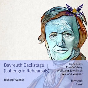 Wagner: Bayreuth Backstage (Lohengrin, 1962) - Interviews w/ Vinay, Dalis, Sawallisch, Wieland Wagner & lots of rehearsal recordings