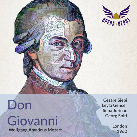 Mozart: Don Giovanni - Siepi, Gencer, Jurinac, Freni, Evans Lewis, Ward; Solti. London, 1962
