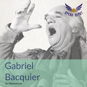 Compilation: Gabriel Bacquier - Excerpts from Figaro, Don Giovanni, Così, Orphée, Hoffmann, Otello, Tosca and more!