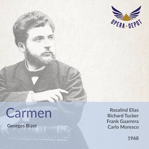 Bizet: Carmen - Elias, Tucker, Jennings, Guarrera, Franke; Moresco. 1968