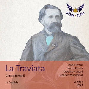 Verdi: La Traviata (In English) - A. Evans, Erwen, Chard. London, 1973