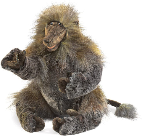 Baboon Hand Puppet from Folkmanis Puppets