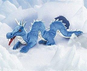 Blue Dragon Puppet from Folkmanis Puppets