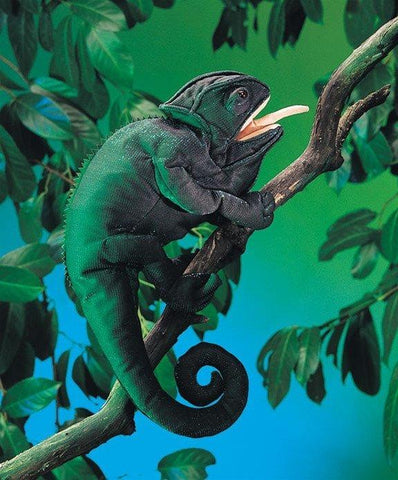 Chameleon Hand Puppet from Folkmanis Puppets