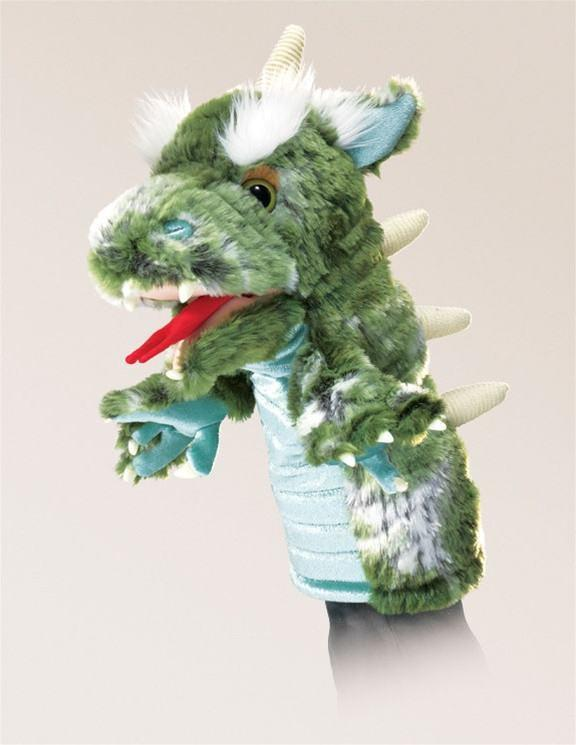 Dragon Stage Puppet from Folkmanis Puppets - AardvarksToZebras.com