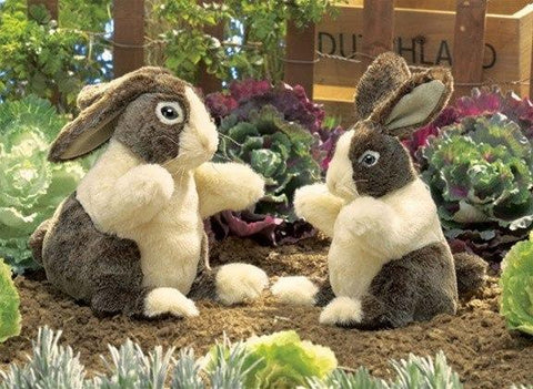 Dutch Rabbit Hand Puppet from Folkmanis Puppets