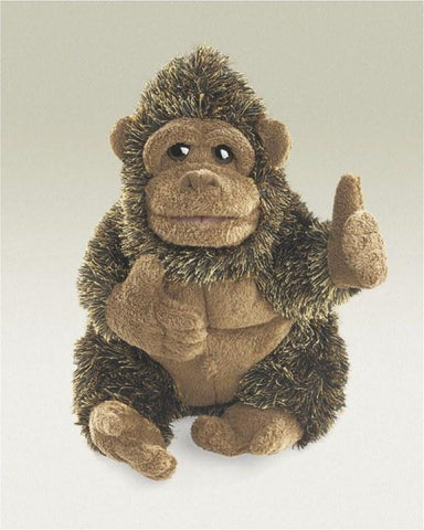Gorilla, Small Hand Puppet from Folkmanis Puppets