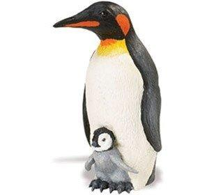 Incredible Creatures Emperor Penguin with Baby Replica from Safari - AardvarksToZebras.com