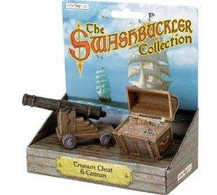 Treasure Chest & Cannon Replica from Safari - AardvarksToZebras.com