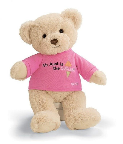 Just for Her™ Aunt T-Shirt Teddy Bear by Gund®