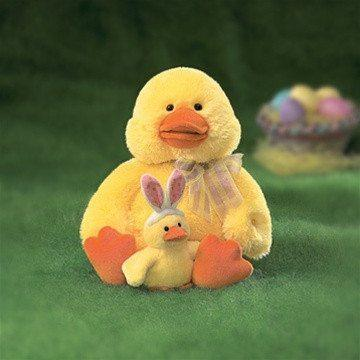 Martha Duck Mom and Baby from Gund®