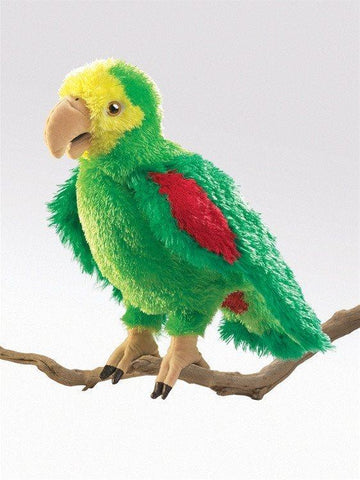 Amazon Parrot Hand Puppet from Folkmanis Puppets