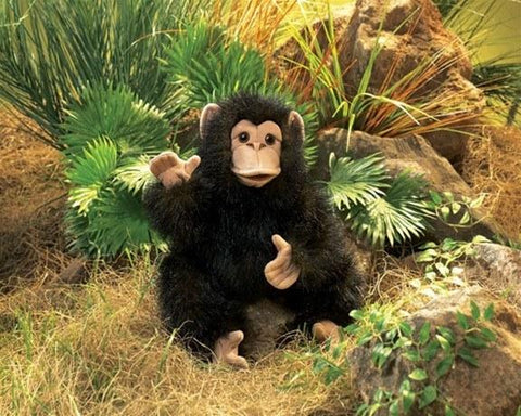 Baby Chimp Chimpanzee Hand Puppet from Folkmanis Puppets