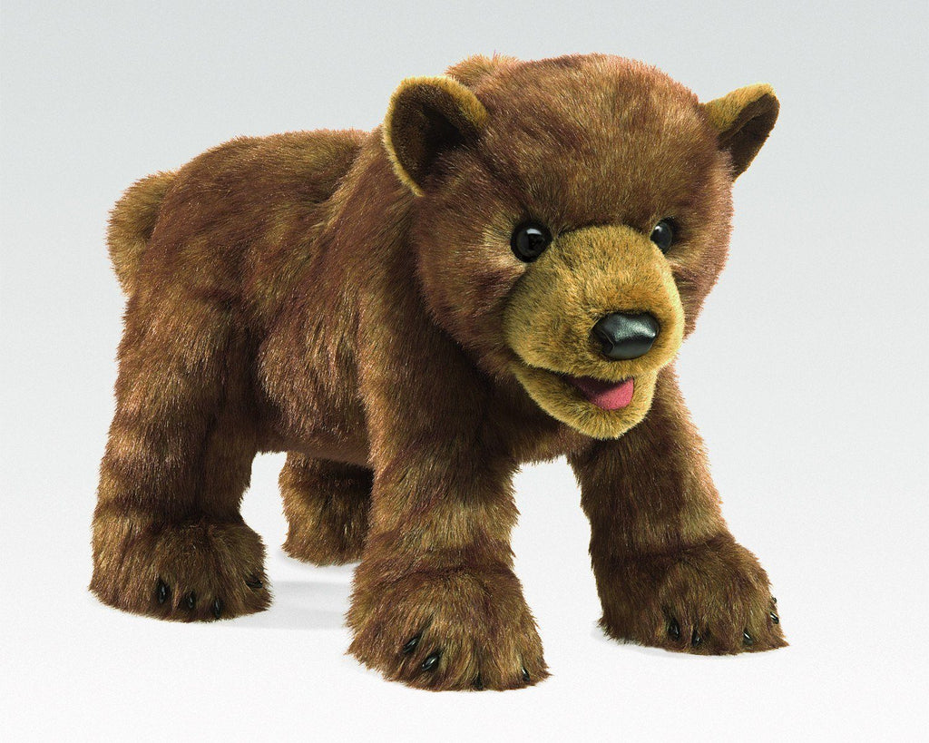 Brown Bear Cub from Folkmanis Puppets - AardvarksToZebras.com