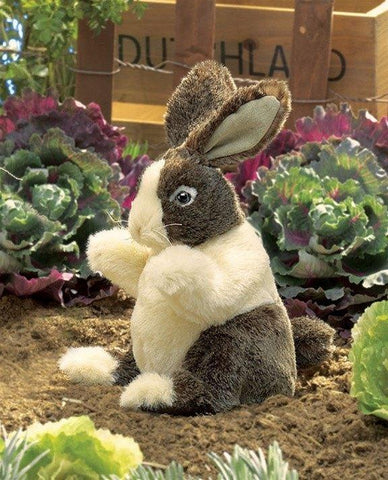 Dutch Baby Rabbit Hand Puppet from Folkmanis Puppets