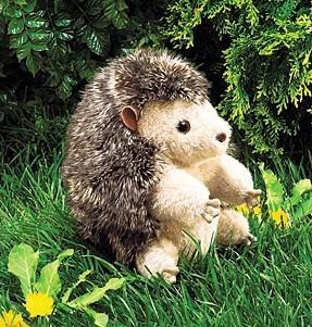Hedgehog Hand Puppet from Folkmanis Puppets