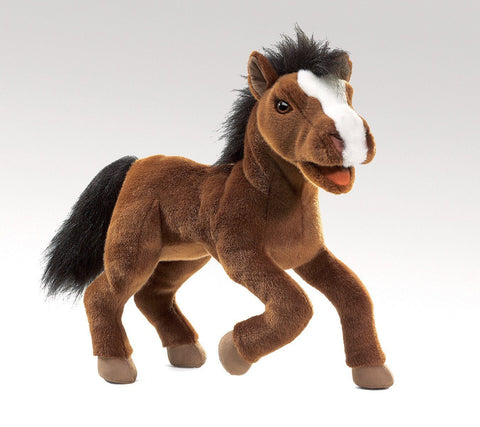 Horse Hand Puppet from Folkmanis Puppets
