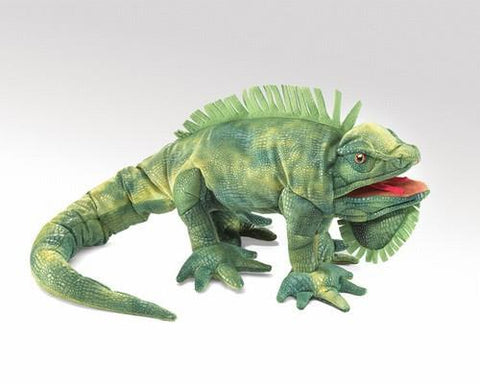 Iguana Hand Puppet from Folkmanis Puppets