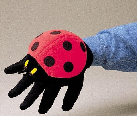 Ladybug Hand Puppet from Folkmanis Puppets