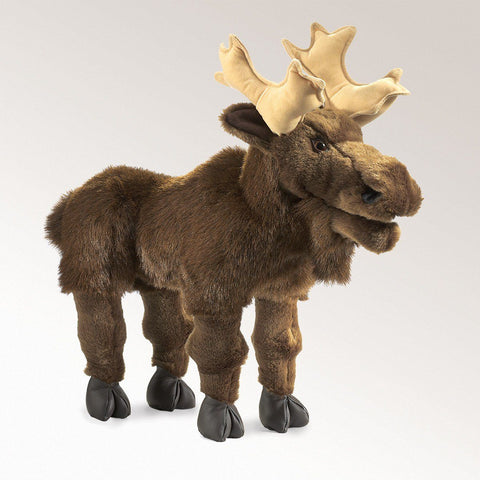 Moose Hand Puppet from Folkmanis Puppets