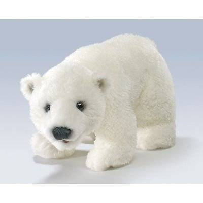Polar Bear Cub Hand Puppet from Folkmanis Puppets
