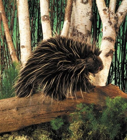 Porcupine Hand Puppet from Folkmanis Puppets