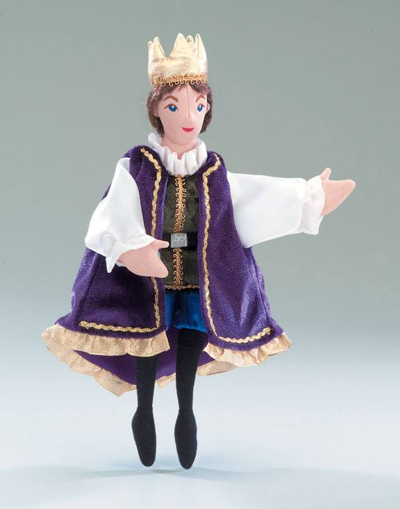 Prince Character Puppet from Folkmanis Puppets - AardvarksToZebras.com