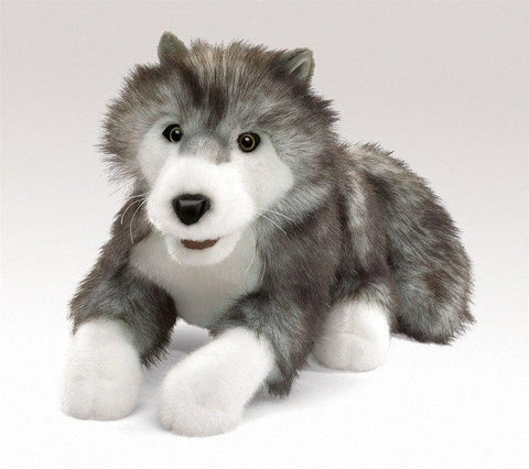 Timber Wolf Hand Puppet from Folkmanis Puppets