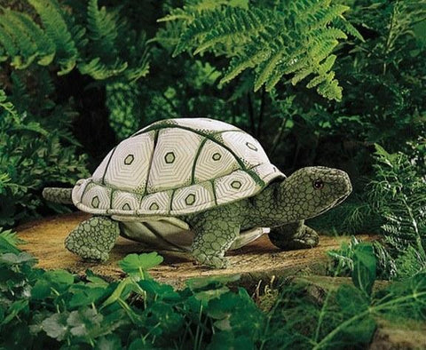 Tortoise Hand Puppet from Folkmanis Puppets