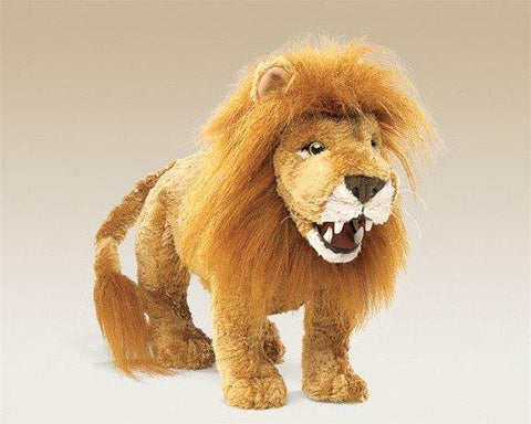 Webwilds Small Lion Puppet from Folkmanis Puppets