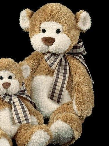 Bruiser Teddy Bear from the Bearington Collection - AardvarksToZebras.com