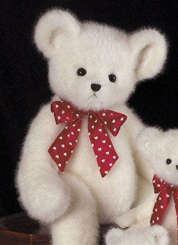 Papa Heartly Teddy Bear from The Bearington Collection - AardvarksToZebras.com